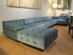Harvey Probber Seven-Piece Sectional Fancy Living Rooms, Mid Century Modern Living Room, Mid Century Modern Furniture, Mid Century Modern Design, Contemporary Furniture, Basement Furniture, Furniture Plans, Cool Furniture, Furniture Design