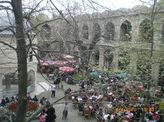 KOZA HANI – BURSA This marketplace consists mainly of merchants selling silks and brocades.  Koza Han dates back centuries as a marketplace where traders from the 14'th centry on world come to buy and sell their products.  Koza Han consists of a two story Ottoman building, attached to the central covered market, with beautiful, tree shaded courtyard.