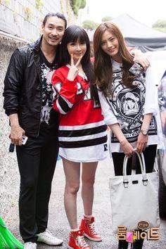 BOM with Shin Sung Woo & Nana (After School/Orange Caramel) for SBS Roommate