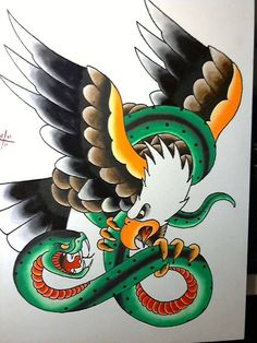 eagle and serpent | misfitsandheroes