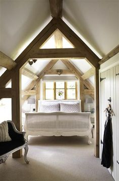 Attic | The Master with vaulted ceiling
