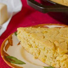 Side Dish Recipe: Easy Skillet Cornbread with Creamed Corn