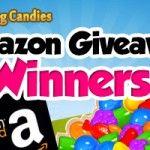 Amazon Giveaway Winners