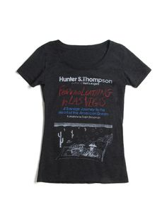 Fear and Loathing in Las Vegas women's black t-shirt | Outofprintclothing.com – Out of Print
