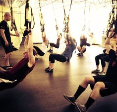 Killer #trx #circuittraining class with Jamel on this awesome #fitfriday #mybym #trxtraining