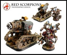 Red Scorpions Thunderfire Cannon | Flickr - Photo Sharing!
