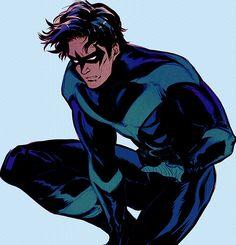Nightwing. Dick Grayson.