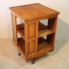 Revolving Bookcase, Reading Corners, Library Table, Monitor Stand, Vintage Medical, Book Stands, Cozy Nook, Vintage School, Book Shelves