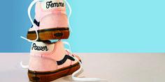 Vans Power Pack Mid Skool 37 Pink Sneakers Review