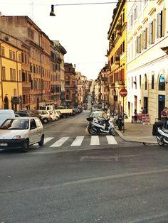 Gewoon een foto van een straat in Rome :)