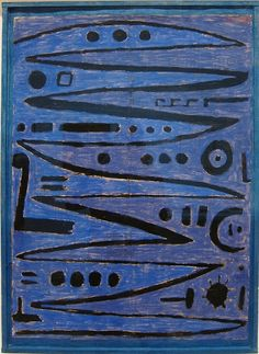 Paul Klee,Heroic Strokes of the Bow, c.1928