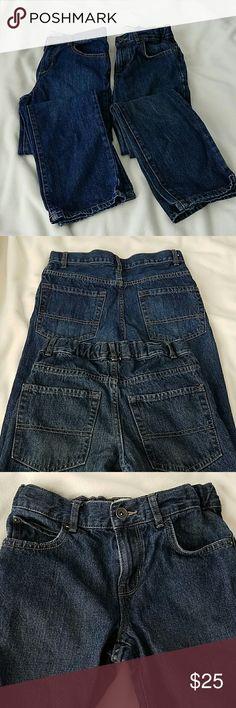 Boy's jeans 100% Cotton  Adjustable waist Children's Place Bottoms Jeans