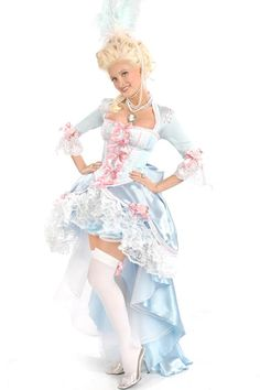 Trashy Lingerie Costume / Marie Antoinette $600.00 Costume has only been worn on two occasions. Mint condition. 100% Real Trashy Lingerie Costume. Retails at $900.00 Includes: Holly Marie Belle Skirt, Holly Marie Lace-up Top, Holly Marie Over Skirt, Holly Marie Bustle PLEASE PASS ON :)