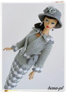 bena-pl  Clothes for Silkstone & Vintage Barbie  OOAK outfit