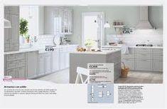 IKEA 2017 Kitchen Sektion BOBDYN drawers and door fronts - pinnershipped Ikea Sektion Cabinets, Ikea Kitchen Cabinets, Kitchen Appliances, Gray Cabinets, Base Cabinets, Kitchen Layout, Kitchen Design, Kitchen Ideas, Studio Kitchen