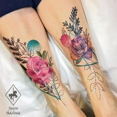 "1,628 Likes, 17 Comments - Jason Adelinia (@jasonadeliniatattoos) on Instagram: ""Painful pair of shins today. Love this placement! Hope you guys like it! Done…"""