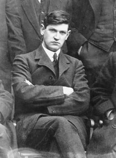 Michael Collins, was an Irish revolutionary leader, Minister for Finance & Teachta Dala (TD) for Cork South in the First Dail of 1919, Director of Intelligence for the IRA, & member of the Irish delegation during the Anglo-Irish Treaty negotiations. Subsequently, he was both Chairman of the Provisional Government & Commander-in-Chief of the National Army. Throughout this time, he was also President of the Irish Republican Army. Collins was shot & killed in August 1922.