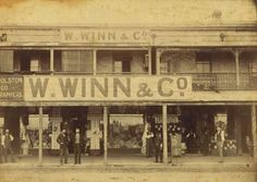 Winn and Co in Hunter St,Newcastle in the Hunter region of New South Wales in 🌹 Tasmania Hobart, Hunter Street, Australian Road Trip, Australian Photography, Newcastle Nsw, Australia Day, Historical Architecture, My Town, South Wales