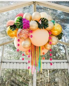 Balloon Ceiling, Balloon Garland, Balloon Decorations, Birthday Party Decorations, Birthday Parties, Balloon Balloon, Balloon Ideas, Birthday Brunch, Balloon Centerpieces