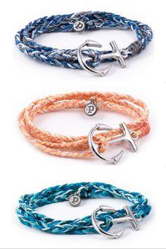 Anchor Wrap Bracelet Collection