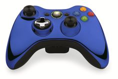 Custom Xbox 360 Controller  Wireless Glossy Half-Iron Gray-And-Half-Red Orange- Without Mods