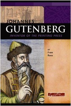 Johannes Gutenberg coloring page | Mystery of History 2 ...