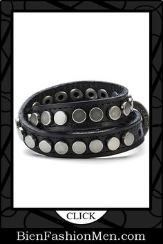 Mens Leather Cuffs | Mens Bracelets | Mens Jewelry | Mens Accessories | Bracelets on Men | Mens Jewelery | Shop Now ♦ Trendy Mens Urban Snake Style Black Leather Bracelet Cuff $15.90