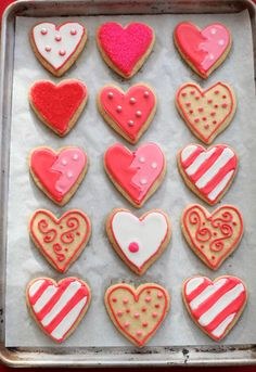 Gorgeous Valentine's Day Cookies! from master baker and author ZoeBakes.com (love her recipes)