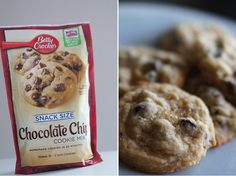 Butter, with a side of Bread // Easy family recipes and reviews.: CHOCOLATE CHIP COOKIES IN A SNAP (THANKS TO BETTY)...