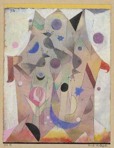 Klee, Paul Swiss, 1879 - 1940 Persische Nachtigallen (Persian Nightingales)