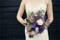 Beautiful natural bouquet of Roses, Lavender, Cornflowers, Limonium, Ranuncluls and foliagesphoto courtesy of www.assassynation.co.uk