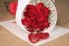 Simplemente bello! rosas rojas!