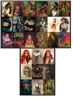 PRINTABLE Gypsy Journal Cards Collage Sheets Ephemera Set Junk Journals Mini Albums Scrapbooks Journals Paper Crafts Cards Etc Sale 50% Off