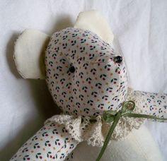 Matilda the Little Teddy Bear by ellemardesigns on Etsy, $10.00