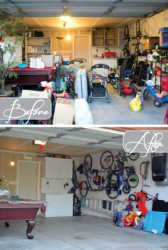 49 Brilliant Garage Organization Tips, Ideas and DIY Projects awww I need this
