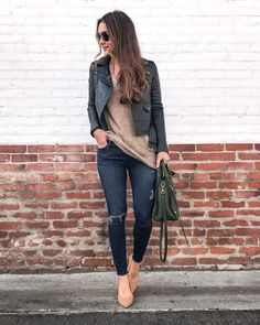The Best Fall Casual Outfit Ideas For Daily Activity 07 Casual Look, Casual Fall Outfits, Fall Winter Outfits, Autumn Winter Fashion, Trendy Outfits, Cute Outfits, Fashion Outfits, Womens Fashion, Fashion 2016