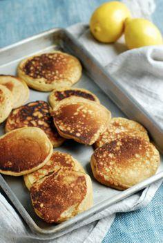 Vanilla Lemon Whole Wheat Pancakes // Babble Food