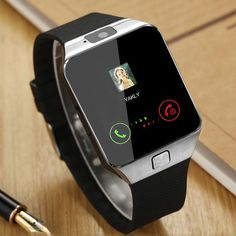2583f174473a  8.71 - Fashion Dz09 Bluetooth Smart Watch Camera Sim Slot For Htc Samsung  Android Phone