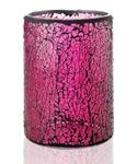Pink Crackle Glass Shade  $30.00