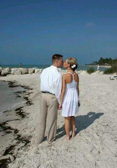 Barefoot Beach wedding <3  Key West, Fl
