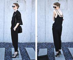 Mango Sunglasses, Zara Top, Vintage Trousers, Zara Shoes