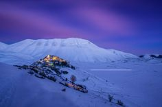 A Cold Night in Castelluccio Photo by Emanuele Zallocco -- National Geographic Your Shot