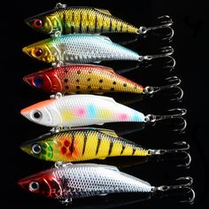 1PCS 6 color 8cm new full swimming layer road sub-VIB lure 11.8g artificial bait hard bionic wobblers lifelike fishing tackle * Find similar products by clicking the VISIT button