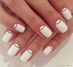 natural colors simple design nails 2017 - Yahoo Image Search Results