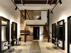 Travis Walton Architecture wins Retail Design Award for Toni and Guy Salon — Melbourne, Australia Australian Interior Design, Interior Design Awards, Retail Interior, Small Salon Designs, Schönheitssalon Design, Design Studio, Smart Design, Design Ideas, Beauty Salon Decor