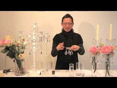 Video: an innovative use for bobeche candle rings.  Seen on http://www.squidoo.com/bobeche-candle-rings
