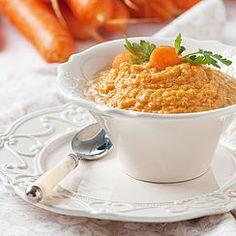 Purée de carotte à la vanille