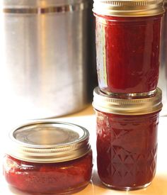 How to Make and Preserve Your Own Strawberry Jam --> hgtvgardens.com/preserving/can-it-homemade-strawberry-jam?soc=pinterest