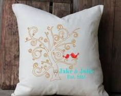 Image result for painted template cushion covers