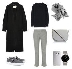 Coziest Fall Outfit by fashionlandscape on Polyvore featuring Mode, Burberry, Helmut Lang, rag & bone, Amb Ambassadors of minimalism, Larsson & Jennings, Filippa K and Samsung